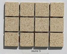 Beige travertin mosaïque grès mat 2 cm grès antique paray au M²